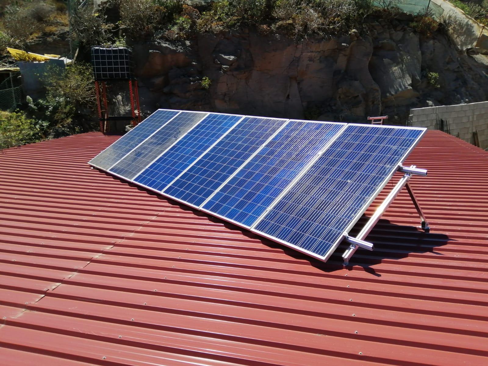 Instalación fotovoltaica 2kw - Telde