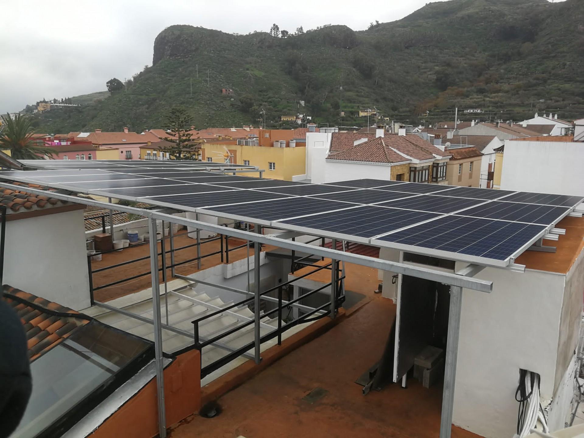 Instalación fotovoltaica 8kw - San Mateo