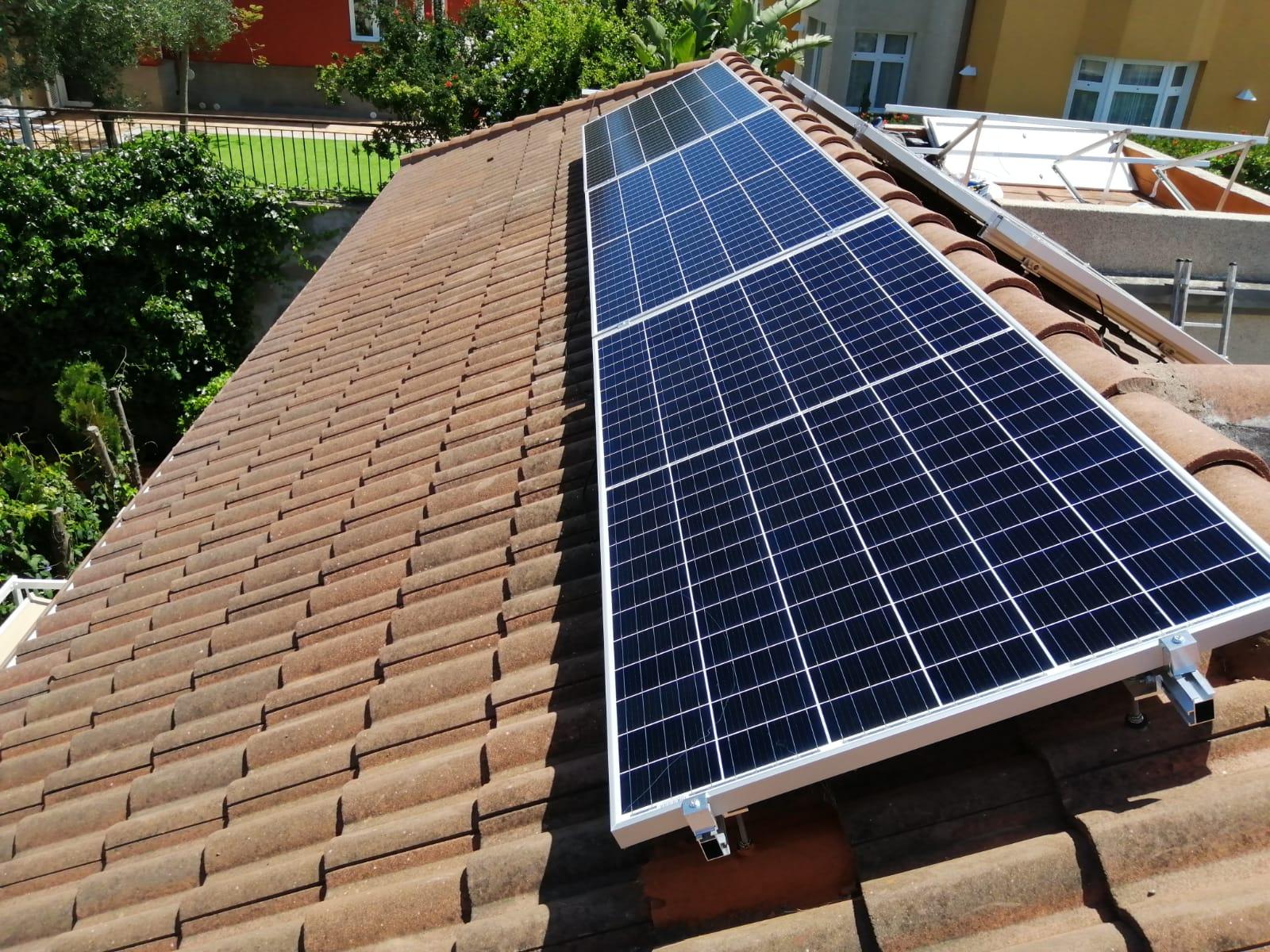 Instalación fotovoltaica 5kw - Santa Brigida
