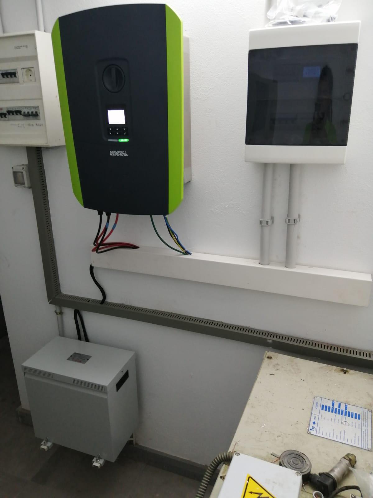 Instalación fotovoltaica 7kw - Escaleritas