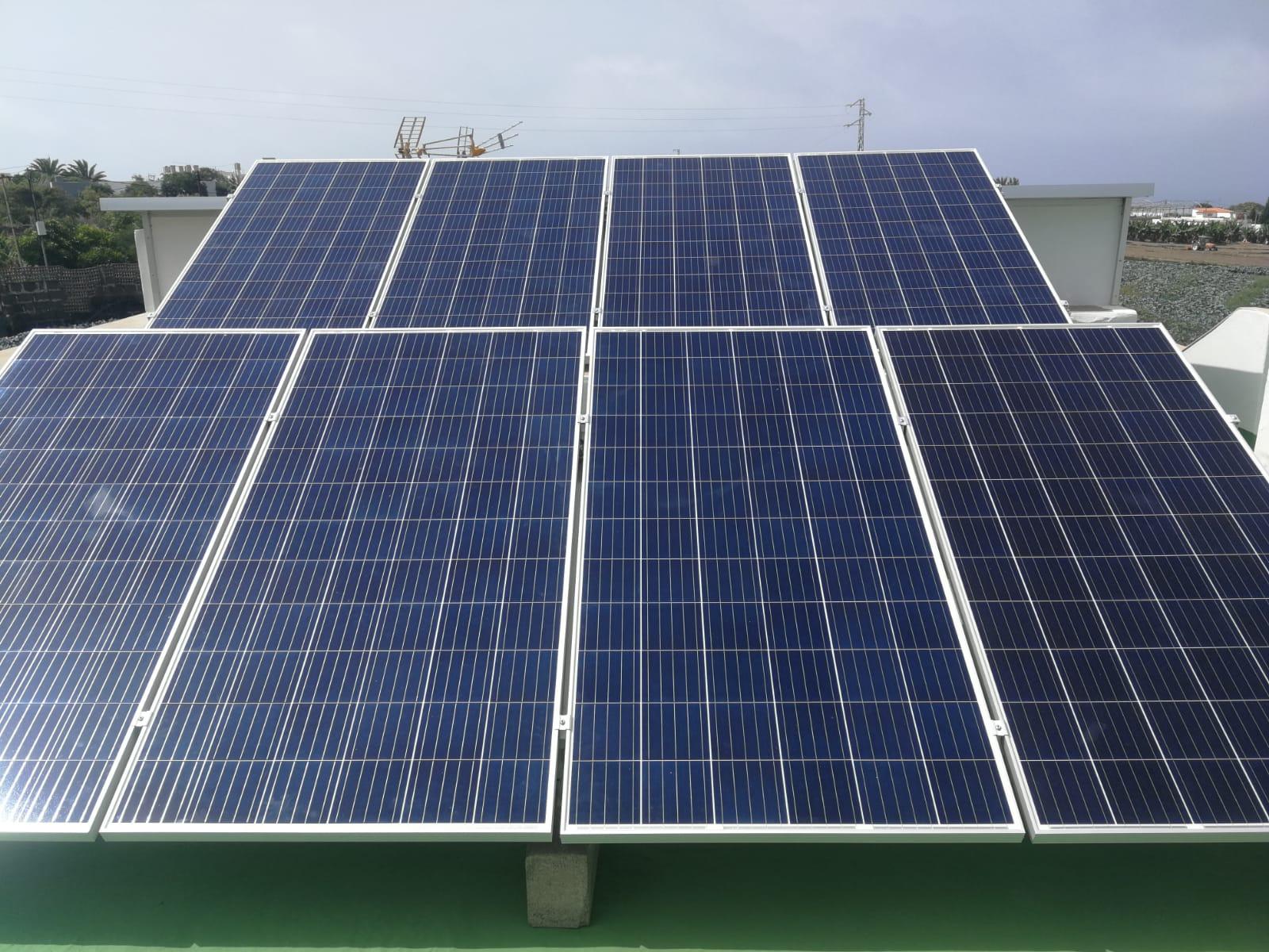 Instalación fotovoltaica aislada - Moya