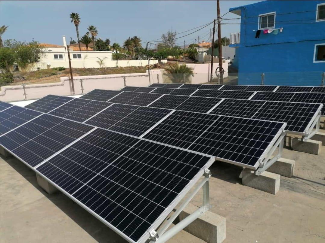 Instalación fotovoltaica 10kw - Salobre
