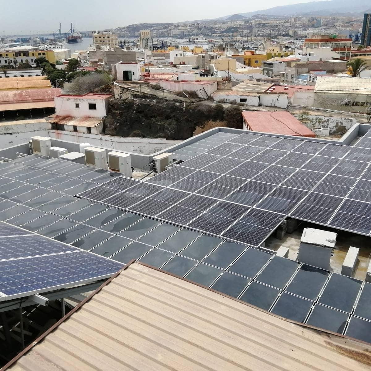Instalación fotovoltaica 40kw - El Sebadal